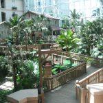 Walkways through the Orlando Gaylord Palms resort and spa