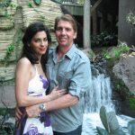 waterfall inside gaylord palms resort in orlando florida