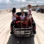 Driving on the Daytona Beach Video