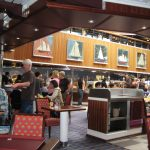 Buffet on Carnival Cruise Lines