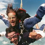 Skydiving on My Bucket List
