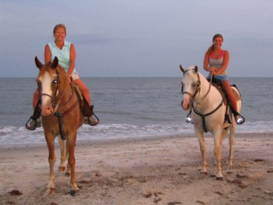 Horseback Riding Florida Beach