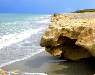 Blowing Rocks Preserve Jupiter Island