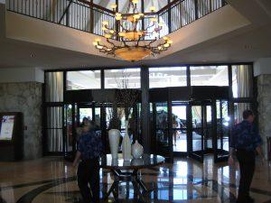 Front Entrance Marco Island Marriott Beach Resort Golf Club & Spa