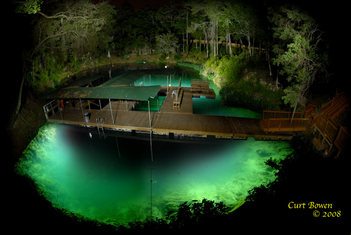 Hal's Forty Fathom Grotto Ocala, Florida