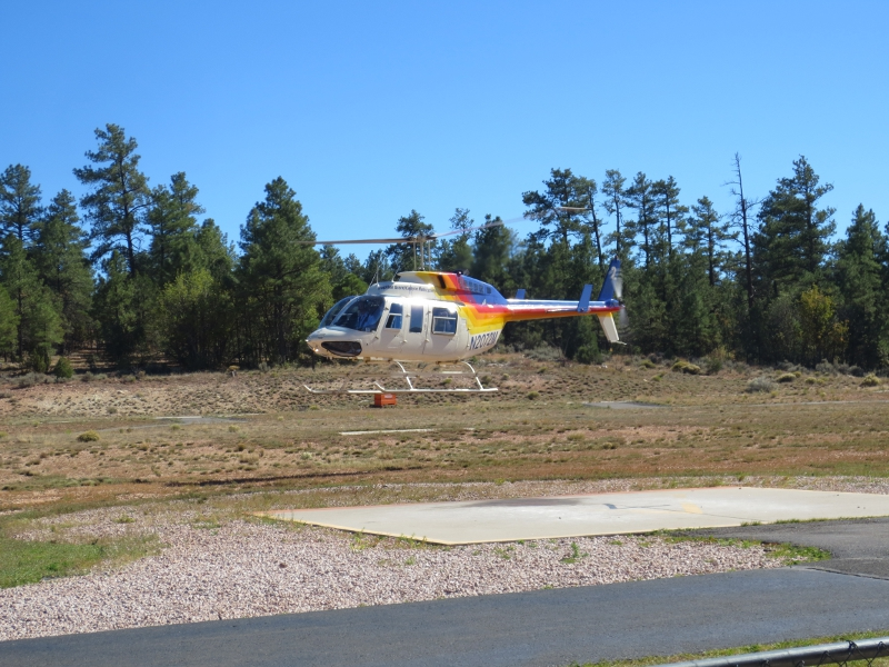 Helicopter-Landing
