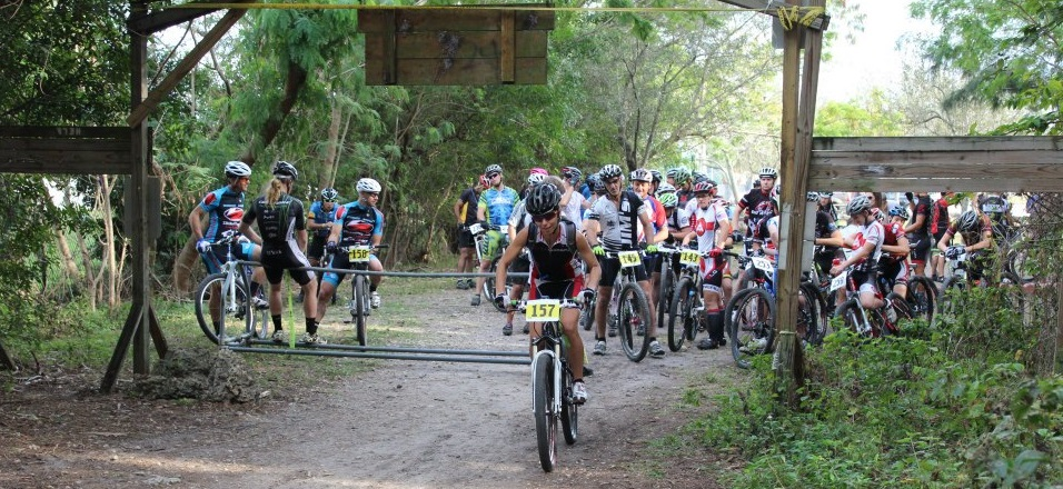 Mountain Biking In Quiet Waters Park, Florida