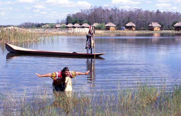 Seminole Indian's Billie Swamp Safari