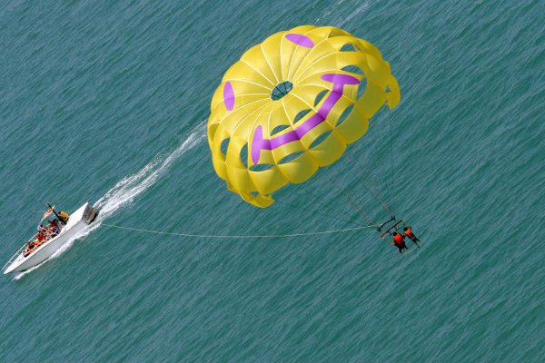 Parasailing in the Keys