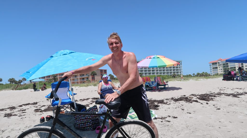 Ride a Bike on Cocoa Beach